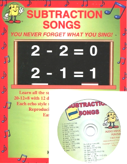 Subtraction Songs - CD