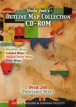 Uncle Josh's Outline Map Collection CD-ROM
