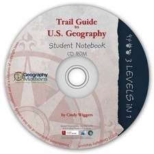 Trail Guide US Notebook 3-Level CD