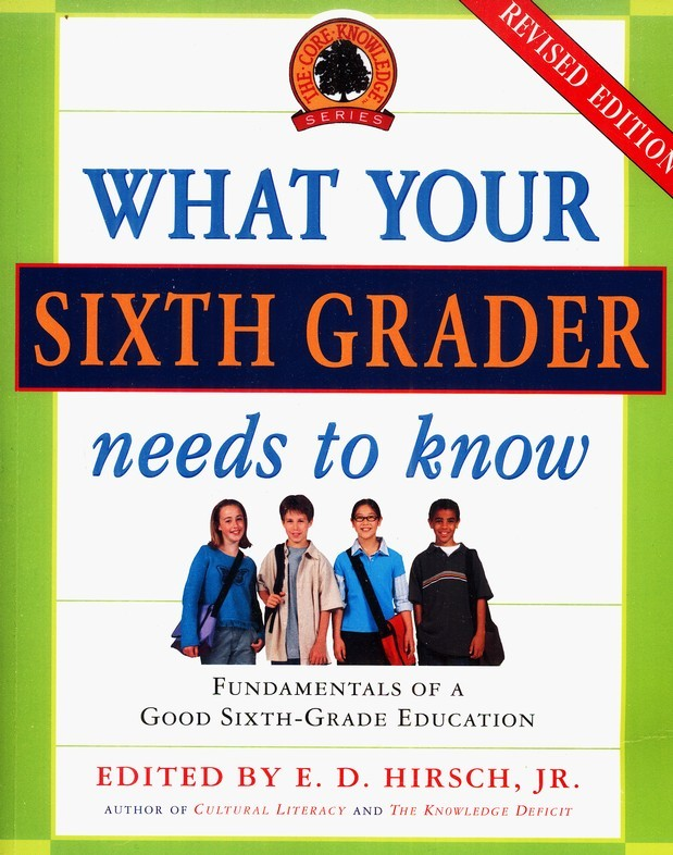 What Your Sixth Grader Needs to Know: The Core Knowledge Series