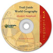 Trail Guide World Notebook 3-Level CD