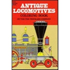 Coloring Book - Antique Locomotives