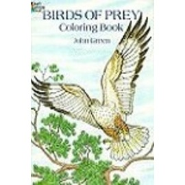 Coloring Book - Birds of Prey