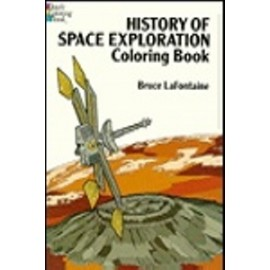 Coloring Book - History of Space Exploration