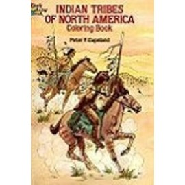 Coloring Book - Indian Tribes of North America