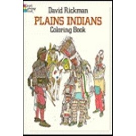 Coloring Book - Plains Indians
