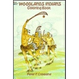 Coloring Book - Woodlands Indians