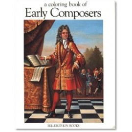 Coloring Book of Early Composers