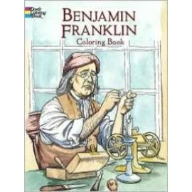 Coloring Book - Benjamin Franklin