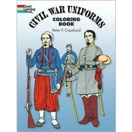 Civil War Uniforms (Coloring Book)
