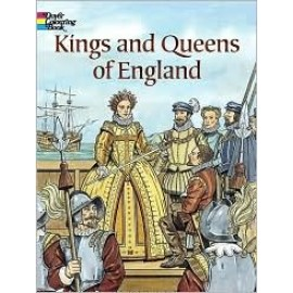 Kings & Queens of England (Coloring Book)