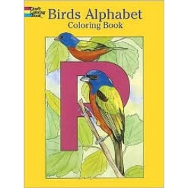 Birds Alphabet (Coloring Book)