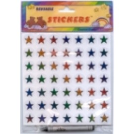 Star Stickers (reusable)