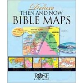 Then and Now Bible Maps, Deluxe (with CD-ROM)