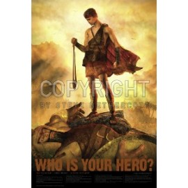 David and Goliath 24x36 Poster