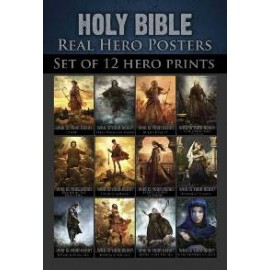 Bible 12 set 3x4.5 Real Hero Posters