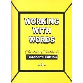 Working with Words Grade 4 Teachers Edition