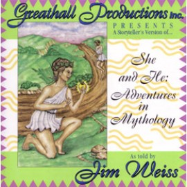 She and He: Adventures in Mythology - CD (Abridged)