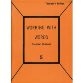 Working with Words: Grade 5 Teachers Edition