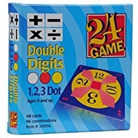 24 Game Double Digits (48 card deck)