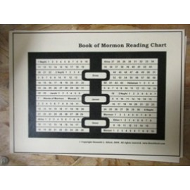 Scripture Mastery: Book of Mormon/D&C Reading Chart
