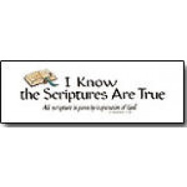I Know the Scriptures are True (Bookmark)