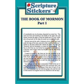 Scripture Stickers Book of Mormon Part 1/50 count