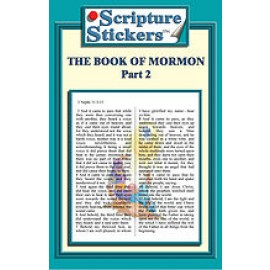 Scripture Stickers Book of Mormon Part 2/50 count
