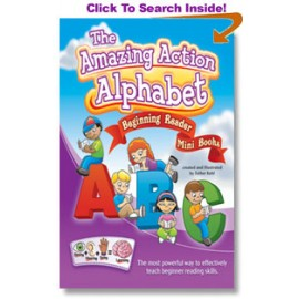 Amazing Action Alphabet Beginning Reader Mini Books