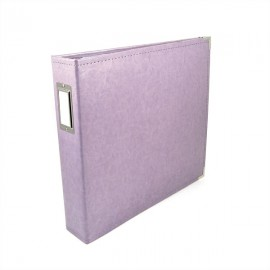 Binder - Classic Leather 12x12 Ring Lilac