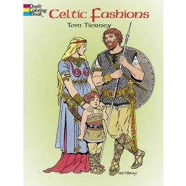 Celtic Fashions (Coloring Book)