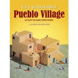 Cut & Assemble Pueblo Village