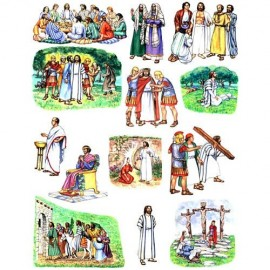Crucifixion & Resurrection (small) - Felt Story