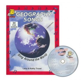 Geography Songs - CD