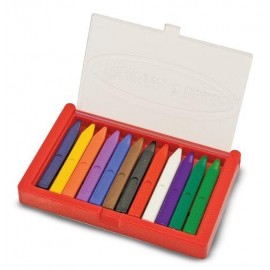 Crayon - Triangular Set of 12