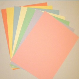 Pastel Colors, Cardstock Assorted Colors 8.5x11 (50 pkg)