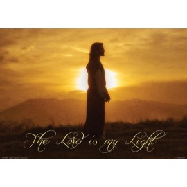 The Lord is My Light - Poster 20x28