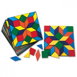 Parquetry Block Super Set (20 Pattern Cards)