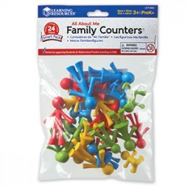 All About Me Family Counters (24 pieces)