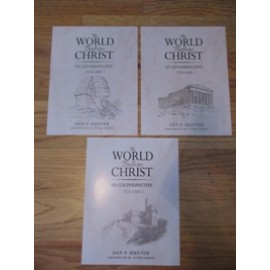 The World Before Christ 3 Volume Set